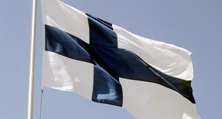 Finsk flagga.