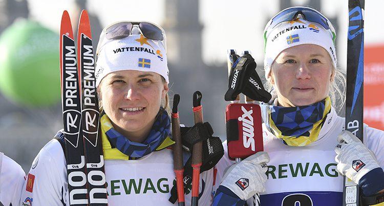 Maja Dahlqvist tillsammans med Ida Ingemarsdotter