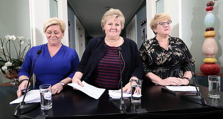 Erna Solberg ska bilda en ny regering
