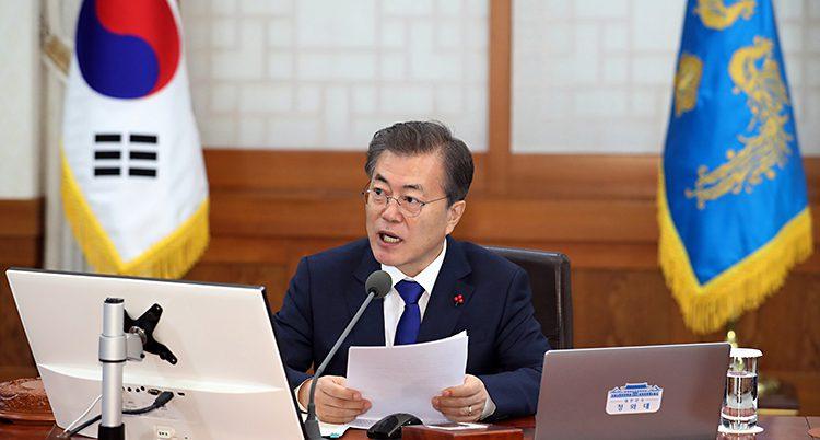 Sydkoreas president Moon Jae-in
