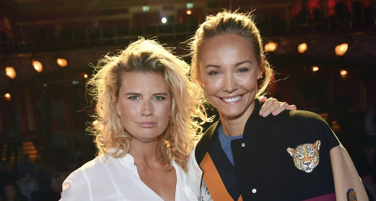 Christine Meltzer och Carina Berg.