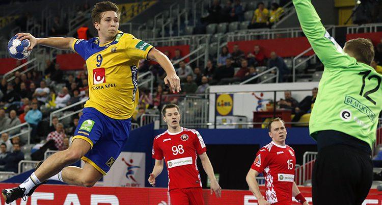 Sverige vann mot Vitryssland