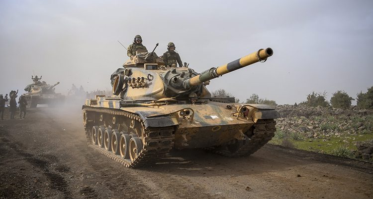 En turkisk stridsvagn