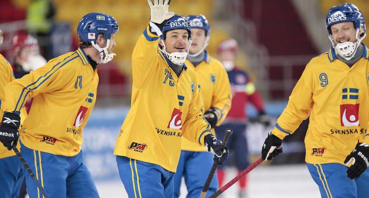 Sverige vann mot Finland.