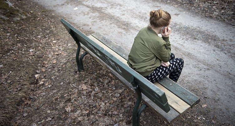 Många barn och ungdomar mår dåli