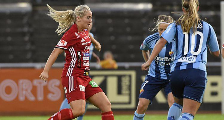 Match mellan Piteå och Djurgården