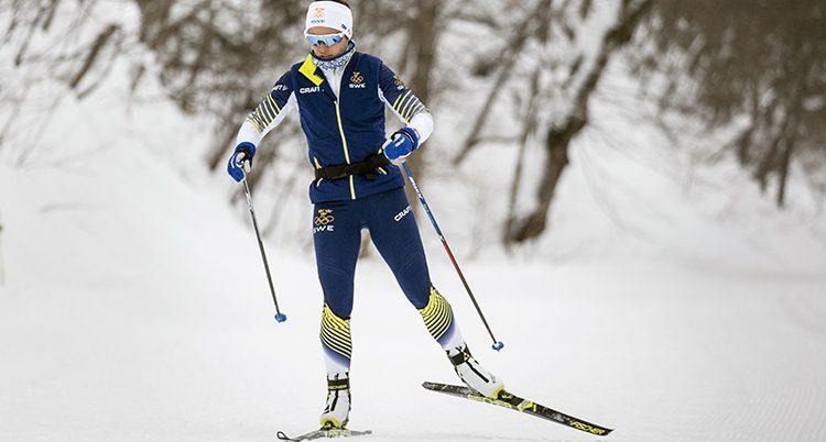 Anna Haag tränar inför OS