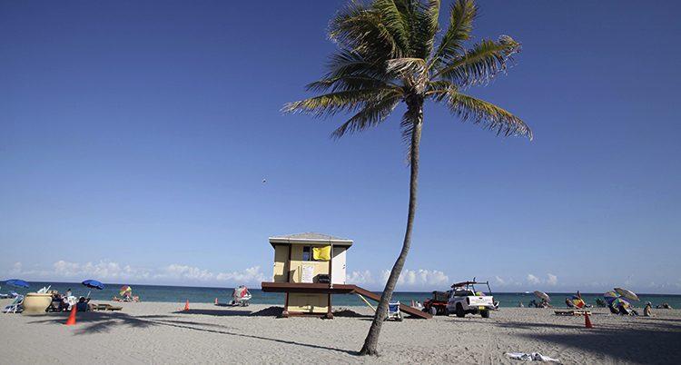 En strand i Florida