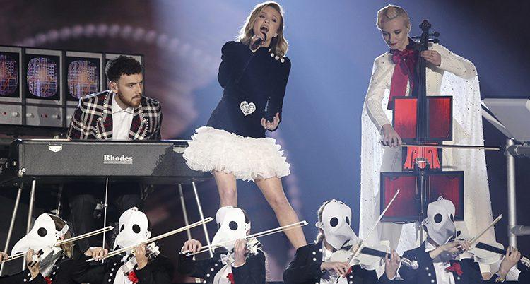 Zara Larsson på scen