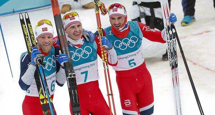 Norska medaljörer