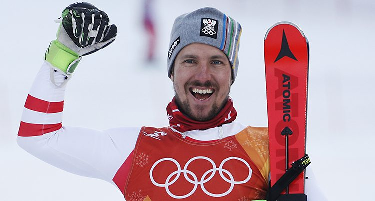 Marcel Hirscher vann guld