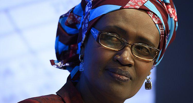 Winnie Byanyima är chef för Oxfam