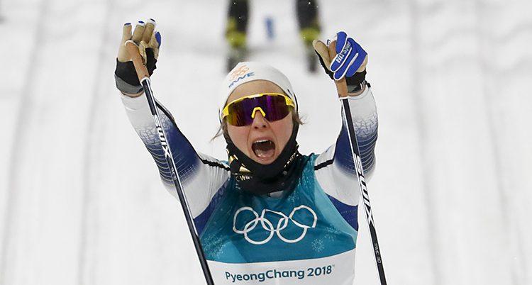 Stina Nilsson vann guld