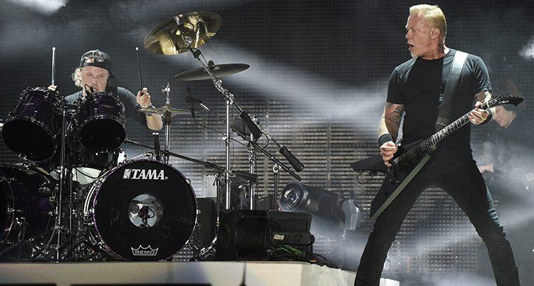 Metallica på scen