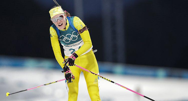 Hanna Öberg åker i mål