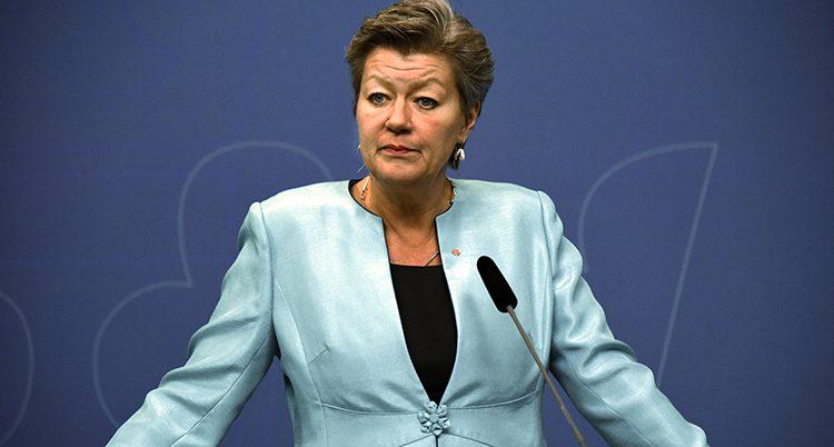 Ylva Johansson i regeringen