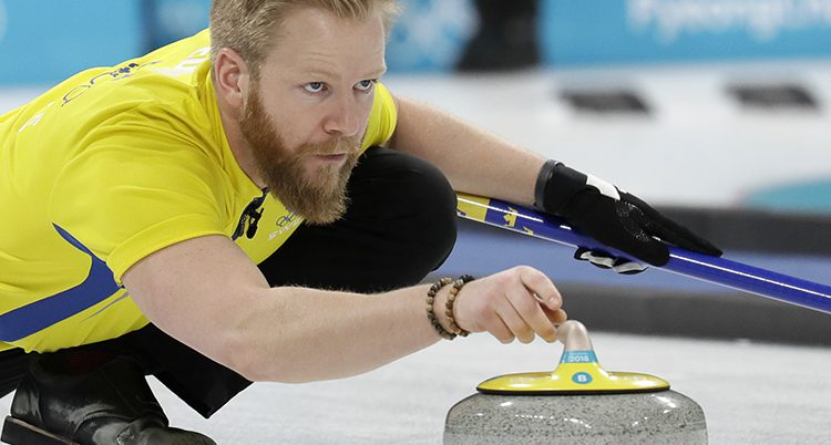 Sveriges Niklas Edin