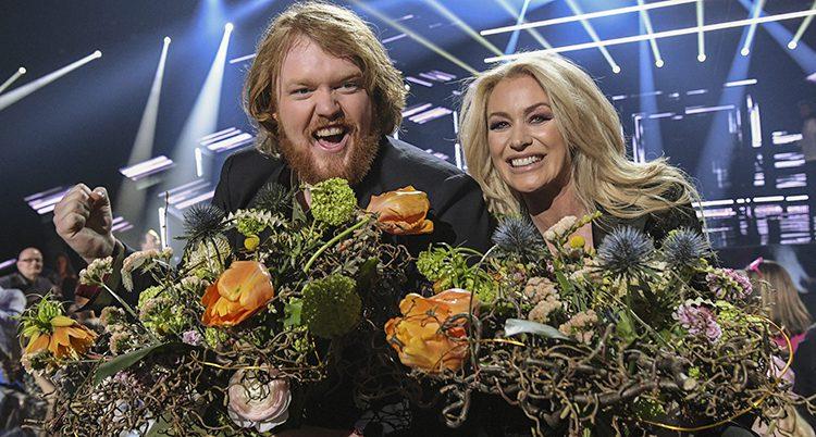 Martin Almgren och Jessica Andersson