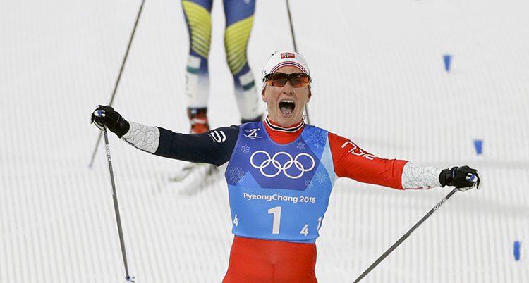Norge vann damernas stafet