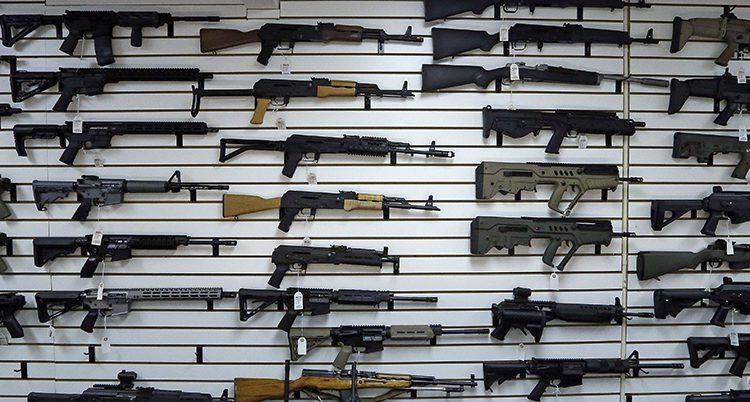 En affär för vapen i USA