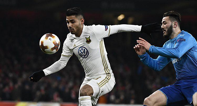 Hosam Aiesh gjorde mål för ÖFK