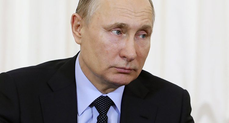 Rysslands ledare Vladimir Putin