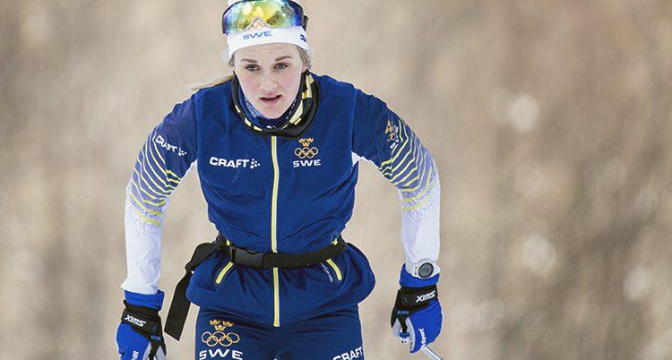 Stina Nilsson tränar