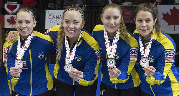 Sverige tog silver i VM