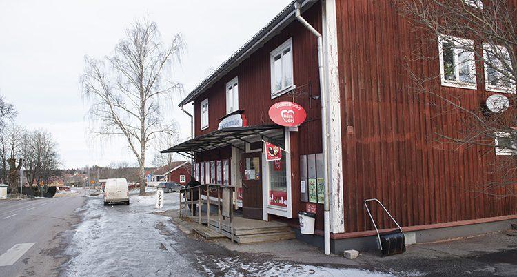 En affär i Västerfärnebo.