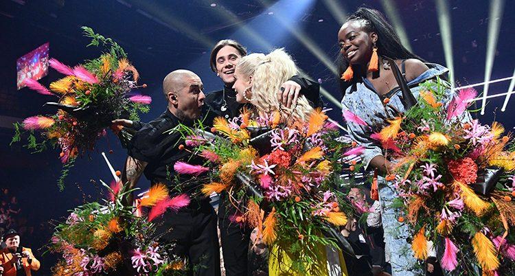 Artisterna jublar över att ha gått till final