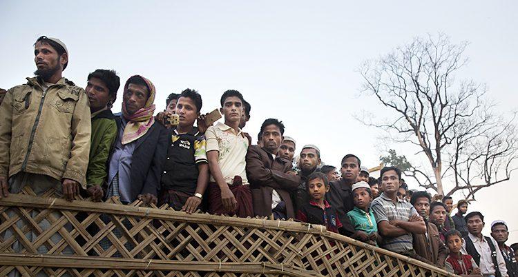 Människor som flytt från Burma