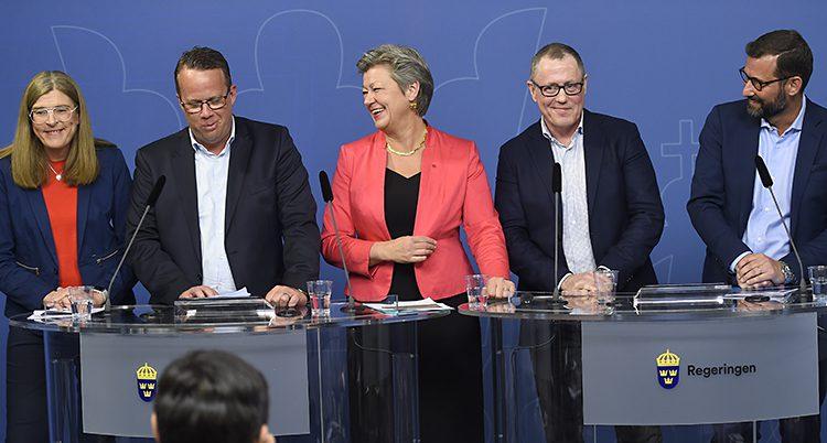 Regeringens minister Ylva Johansson