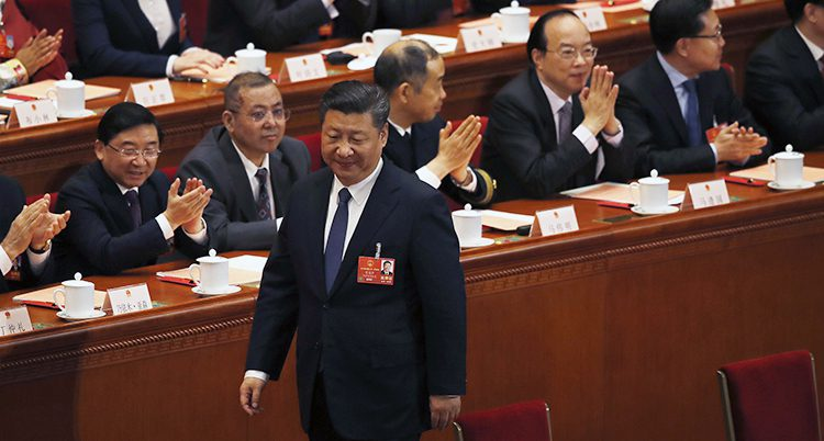 Xi Jinping är Kinas president