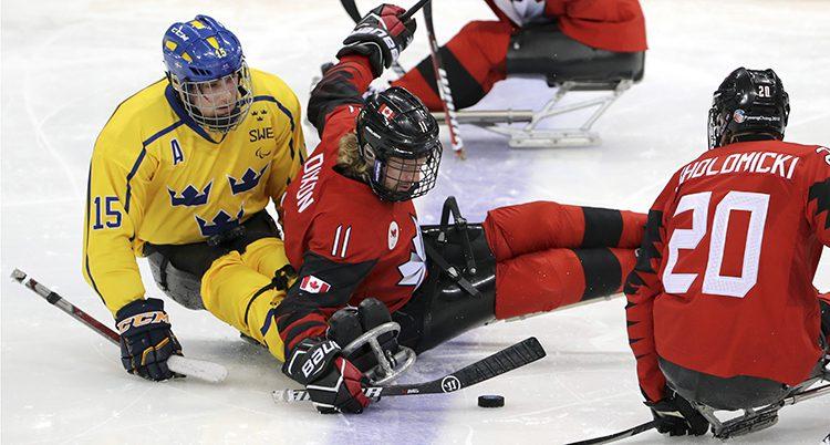 Kanada vann stort mot Sverige