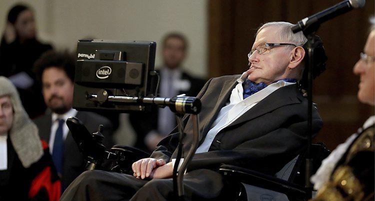 Forskaren Stephen Hawking