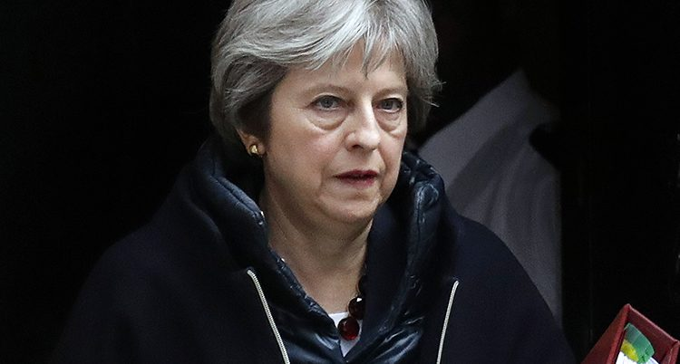 Storbritanniens ledare Theresa May
