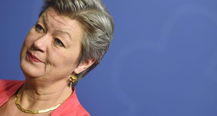 Ministern Ylva Johansson