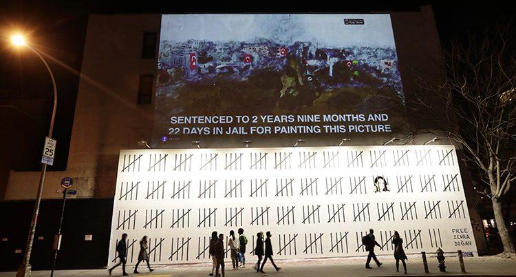 Banksys nya målning