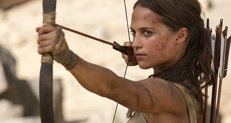 Alicia Vikander som Lara Croft