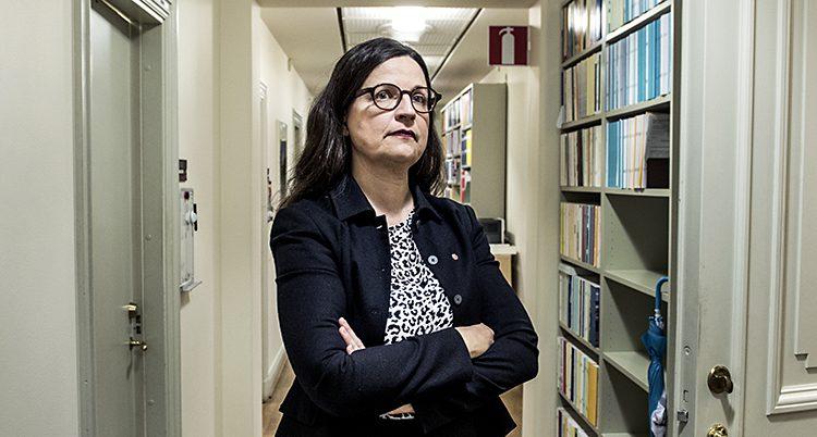 Anna Ekström är minister