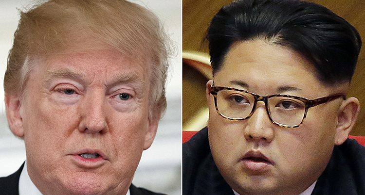Trump och Kim Jong-Un