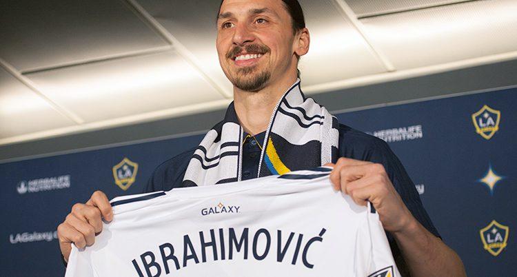 Zlatan spelar nu för LA Galaxy