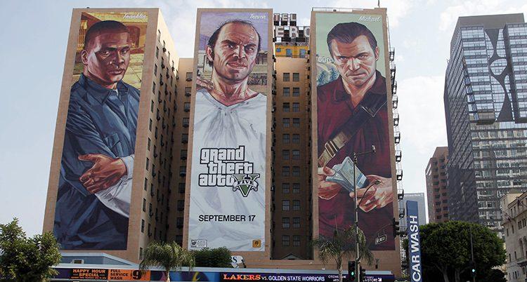 Grand Theft Auto V är världens mest sålda spe