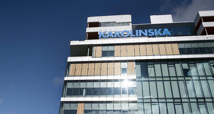 Nya Karolinska sjukhuset i Stockholm