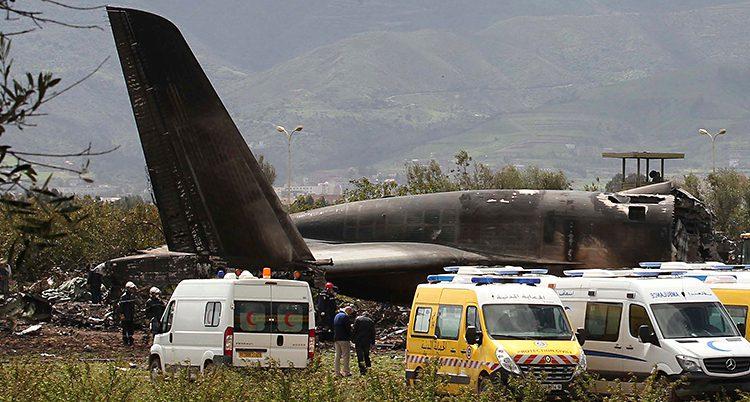 Det störtade flygplanet.