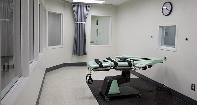Ett rum där folk avrättas i USA