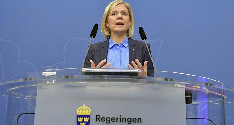 Magdalena Andersson är finansminister.