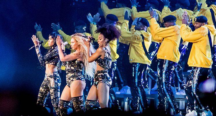 Beyonce på scenen