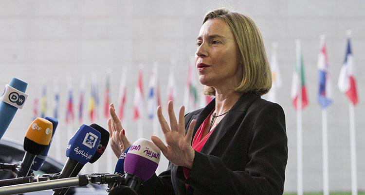 Federica Mogherini i EU.