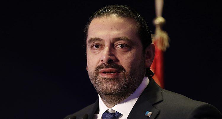 Libanons premiärminister Hariri